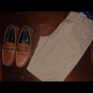 Banana Republic chinos only shoes not included